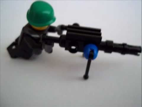How To Make Lego WW2 Guns - YouTube