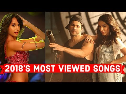 2018's Published Top 20 Most Viewed Indian/Bollywood Songs on YouTube | Hindi, Punjabi Songs