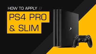 How to Apply a dbrand PS4 Pro / Slim Skin