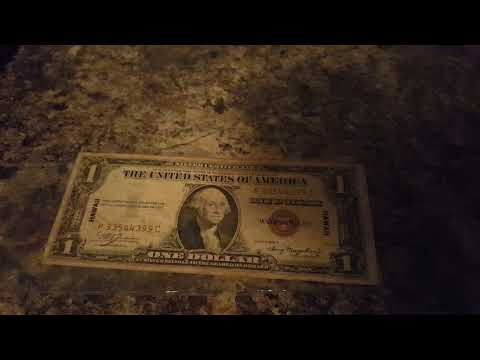 1935A Hawaii Silver Certificate $1 P33544399C Overview + The Future Of My Channel