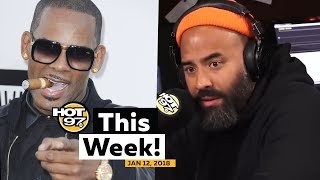 The R. Kelly drama  continues, Cyntoia Brown will be free + Who's Next on HOT 97 This Week!