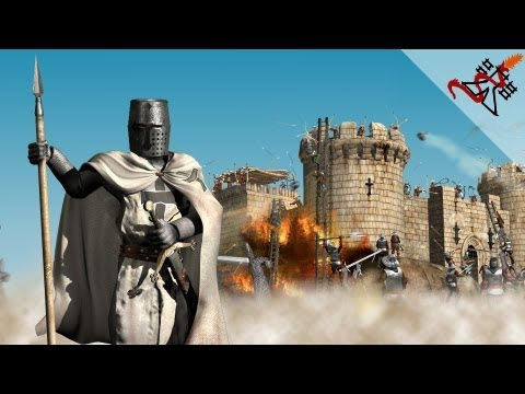 Stronghold Crusader - Mission 4 | Krak the Chevaliers,The Siege of Arqah (The Call To Arms)
