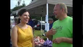 Ontario Garlic With August's Harvest's Warren Ham ~ Stratford Garlic Festival 2011