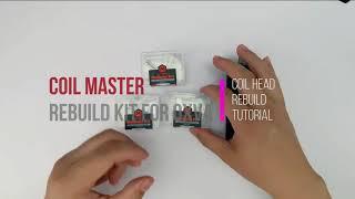 How to Rebuild OΧVA Origin/ OXVA Origin X Mesh Coil with Coil Master RBK | Rewick Tutorial