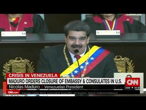Maduro Raises The Stakes Closing Venezuelan Offices In The US