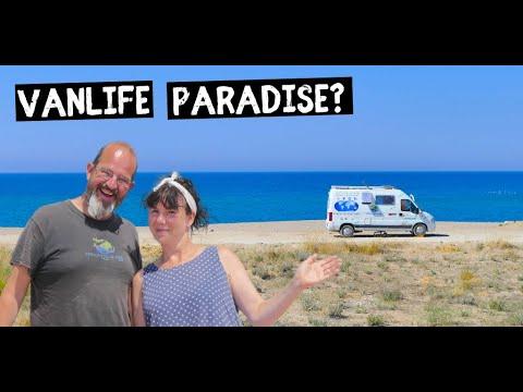 Beach VAN LIFE - Enjoying Turkeys Turquoise Coast
