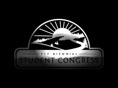 Public Land Foundation's Student Congress