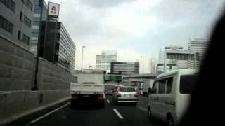 地震の瞬間earthquake(首都高速編 @shutoEXPWAY) 東日本大震災 thumbnail