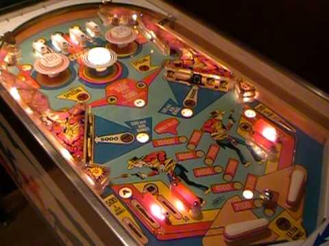 draw pinball machine