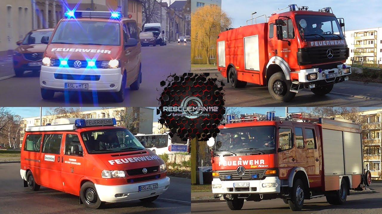 🚨 MTF + TLF 24/48 + ELW 1 + LF 16/12 Feuerwehr Aschersleben