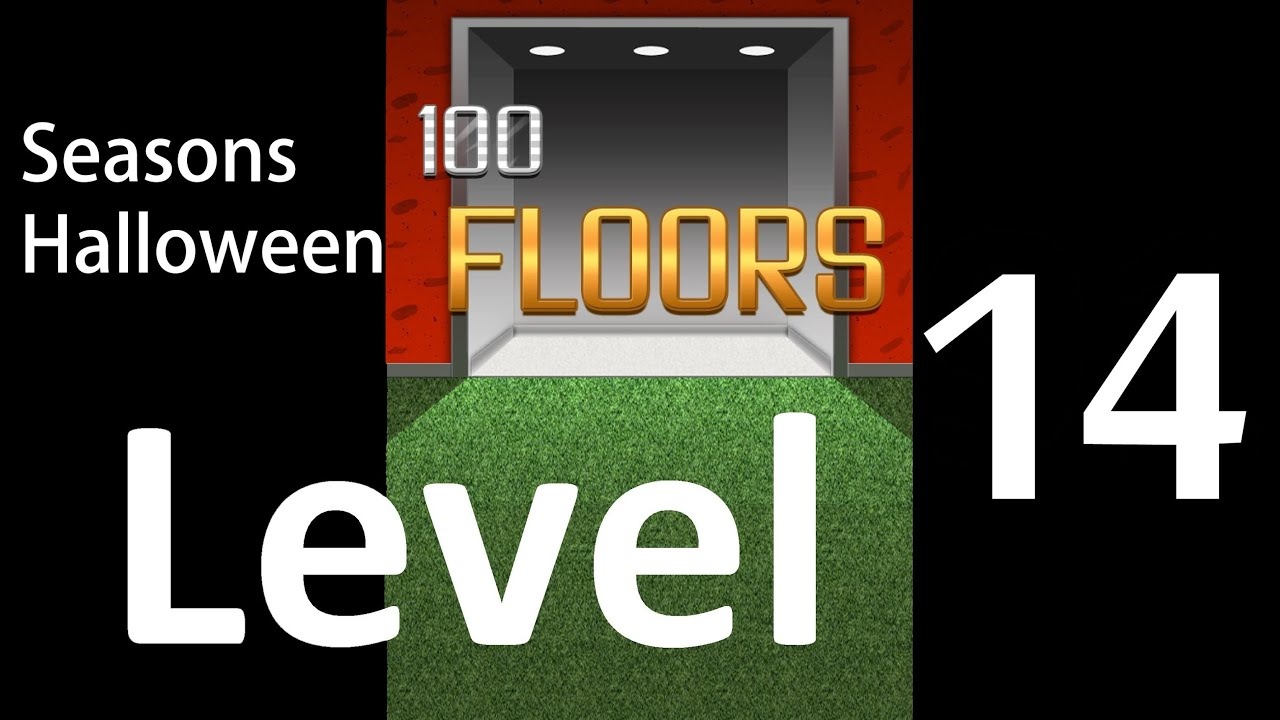 100 Floors Seasons Halloween Level 14 Floor 14 Tower