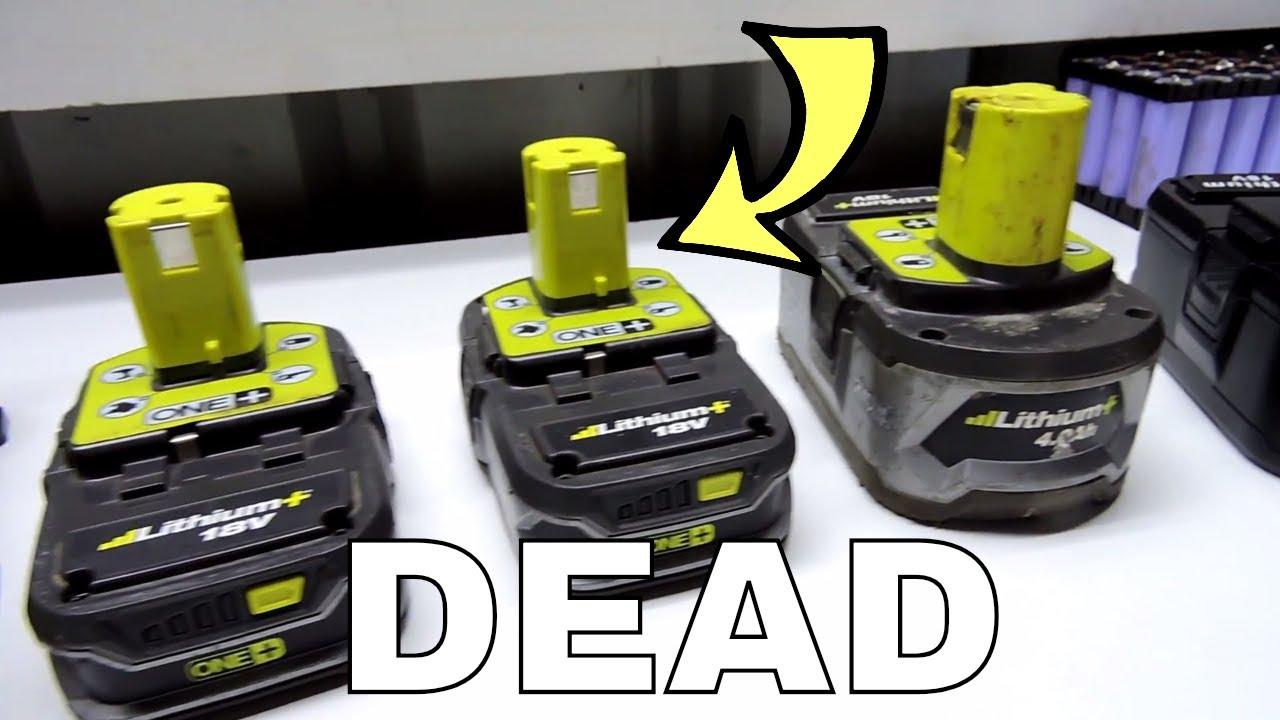 Omtalade 1.5ah Failed Ryobi Battery Rebuild - YouTube XL-12