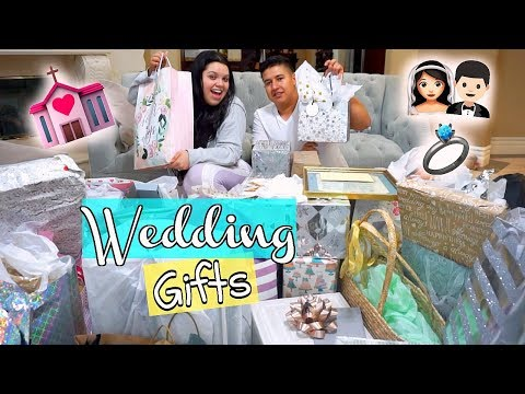 What We Got For Our Wedding!