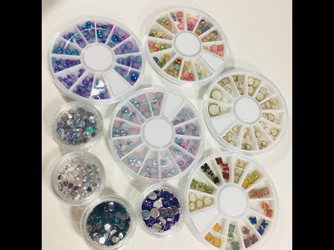Using Nail Embellishments in Card Making and Scrapbooking