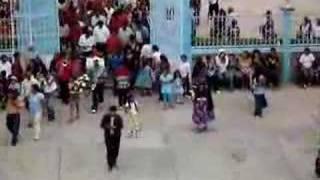 PROCESION EN SANTA ROSA DE LIMA,OAXACA