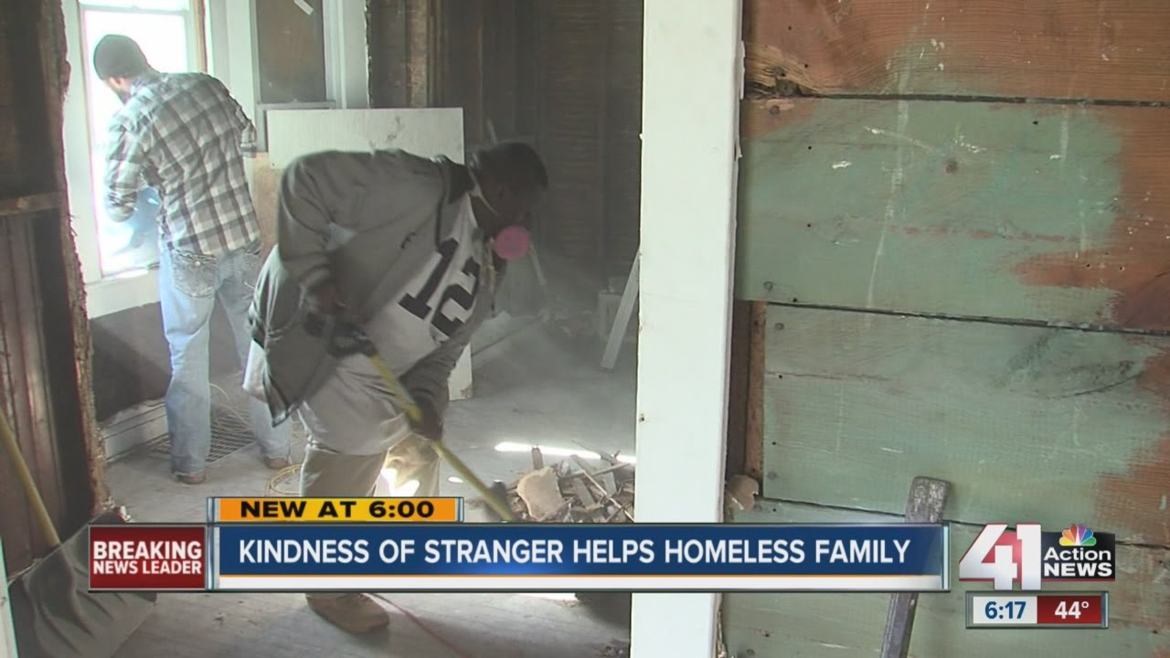 Homeless KC family receives Christmas miracle