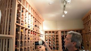 Wine Cellar Installations California -- Laguna Beach Project