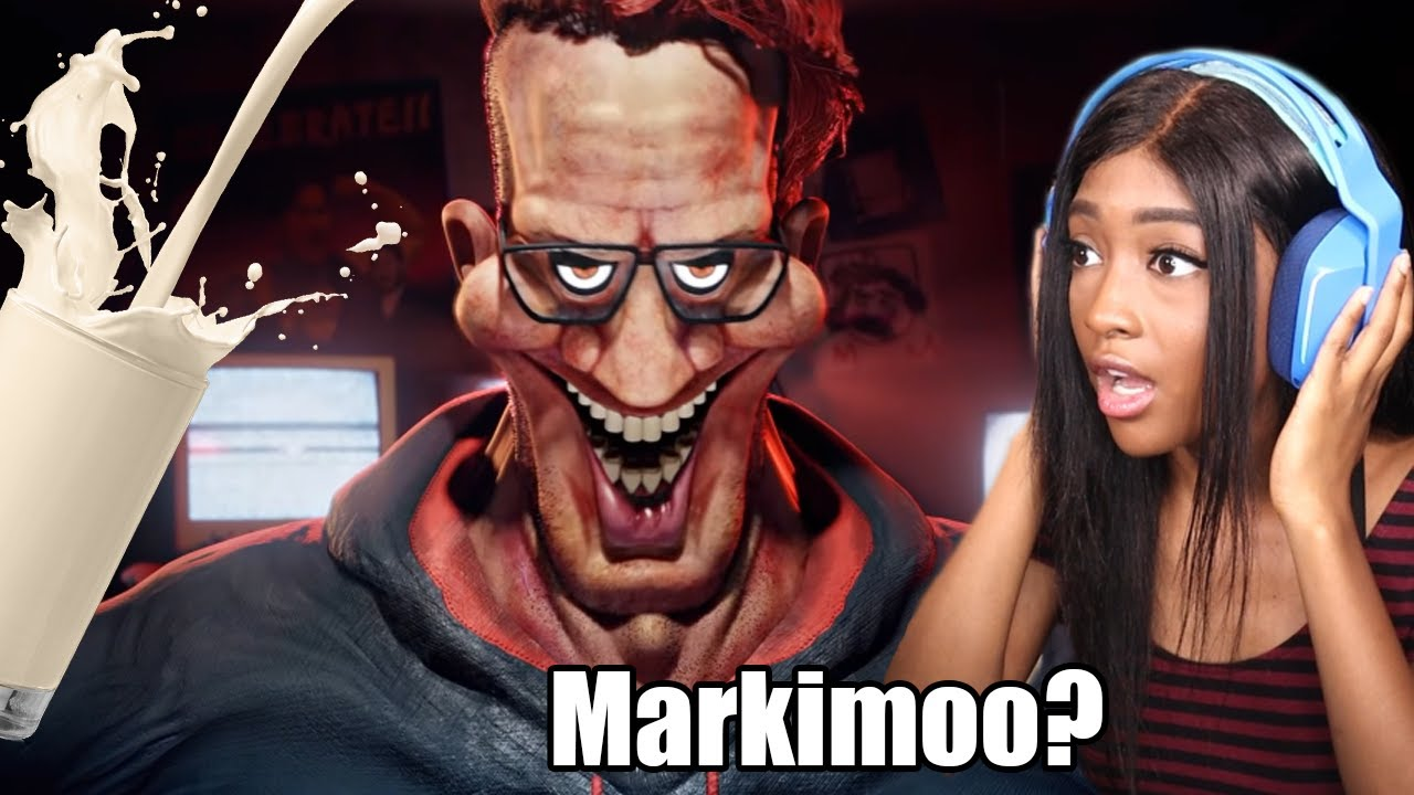 MARKIPLIER WANTS YOUR MILK!! | Reacting to Scary Animations