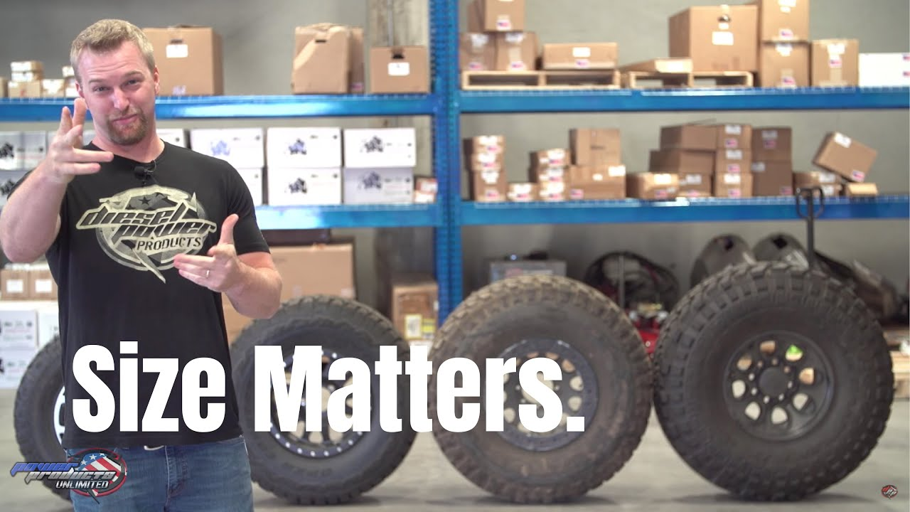 What Your Tire Size Means Size Matters