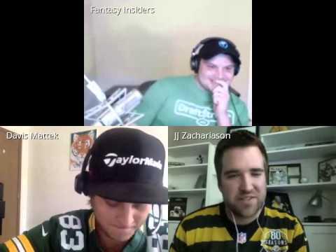Fantasy Insiders NFL DFS Week 1 Show
