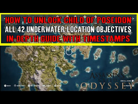Assassin's Creed Odyssey All 42 Underwater Location Objectiv