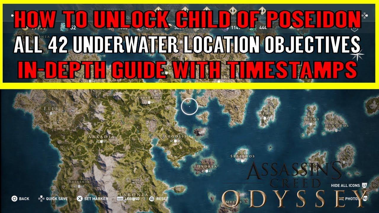 assassins creed odyssey legendary chest map