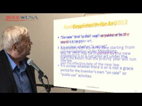 IEEE-USA: Harold C. Wegner - Patent Practice Transitions