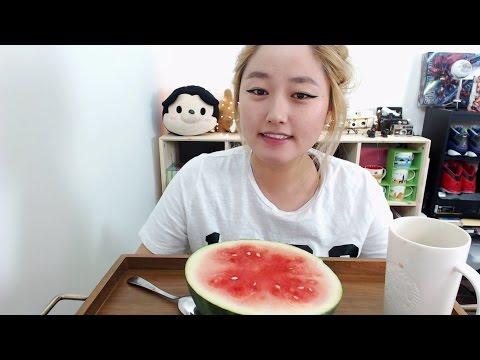 Watermelon Mukbang | KEEMi *LIVE