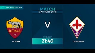 AFL19 Italy Serie A Day 21 AS Roma Fiorentina