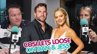 Cosi Lets Loose On Dan &amp Jess Bec &amp Cosi