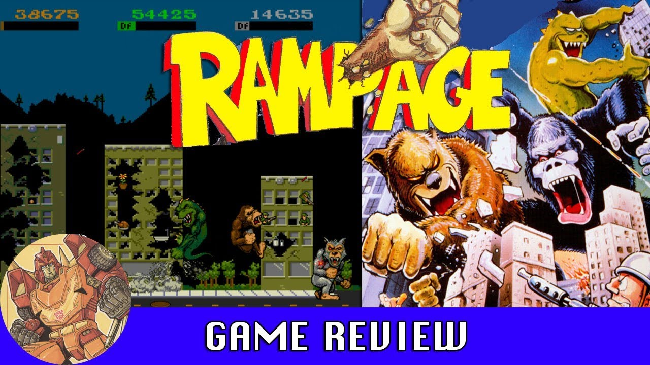Rampage Arcade Game Review Youtube