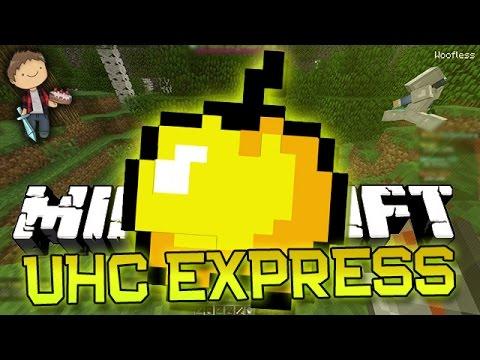 Minecraft: UHC Express Mini-Game (Ultra Hard Core w/Mitch & Rob)