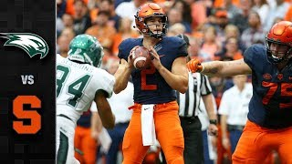 Wagner vs. Syracuse Football Highlights (2018)