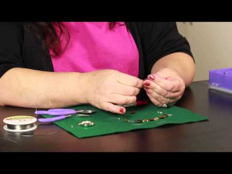 How to Restring a Beaded Necklace : Jewelry Crafts