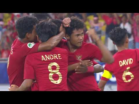 Indonesia 1-1 Vietnam (AFC U16 Malaysia 2018 : Group Stage)