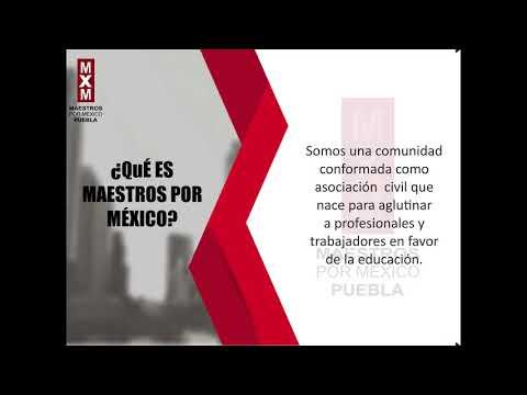 Maestros por México Que es una Asociación?