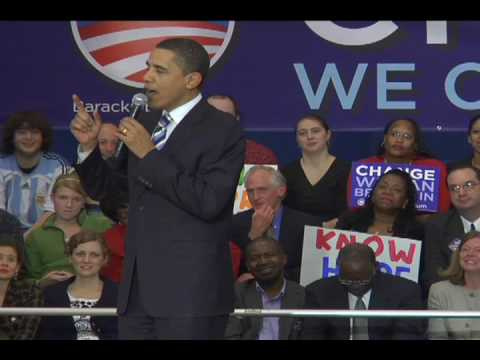 Barack Obama in North Charleston, SC