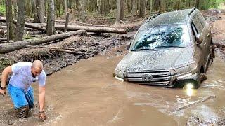 КАК МЫ УБИЛИ НОВУЮ Toyota LC 200!