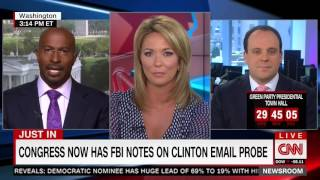 "CNN's Van Jones Says Clinton Has ""Two Strikes Against Her"" Due To"