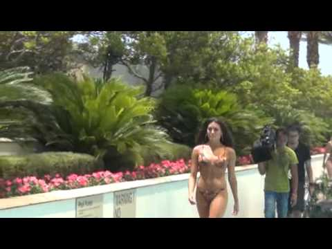 2012 Miss USA contestants Swimsuit fashion show at Trump Vegas Hotel Pool