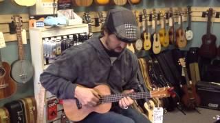 Islander MT-4 tenor ukulele vs. Kala KA-TEM uke