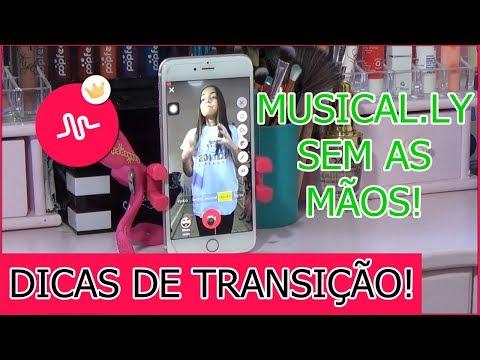 COMO GRAVAR MUSICAL.LY SEM AS MÃOS! Dicas De TRANSIÇÃO NO MUSICAL.LY!