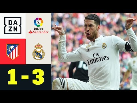 Sergio Ramos und Gareth Bale provozieren bei Torjubel: Atletico - Real 1:3   La Liga   Highlights