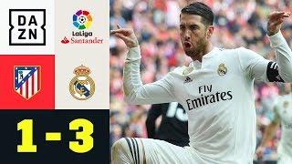 Sergio Ramos und Gareth Bale provozieren bei Torjubel: Atletico - Real 1:3 | La Liga | Highlights