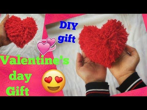 DIY Valentine's day Gift... Handmade Gift idea..DIY heart