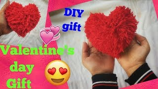 DIY Valentine's day Gift... Handmade Gift idea..DIY heart