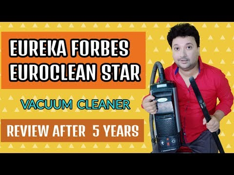 🔥🔥Eureka Forbes Euroclean Star 1100w Dry Vacuum Cleaner   Review After  5 Years   Hindi  