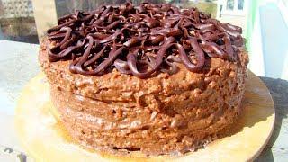 простой и вкусный рецепт пошагово с фото домашнего торта