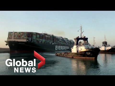 """Suez Canal: Massive cargo ship freed after nearly a week, averting """"catastrophic disaster"""""""