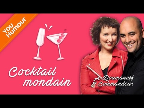 ANNE ROUMANOFF  & JEROME COMMANDEUR - Duo cocktail mondain